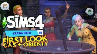 ✨ Bij Mnie Różdżką i Dopychaj Miotłą ✨ First Look: The Sims 4 Kraina Magii