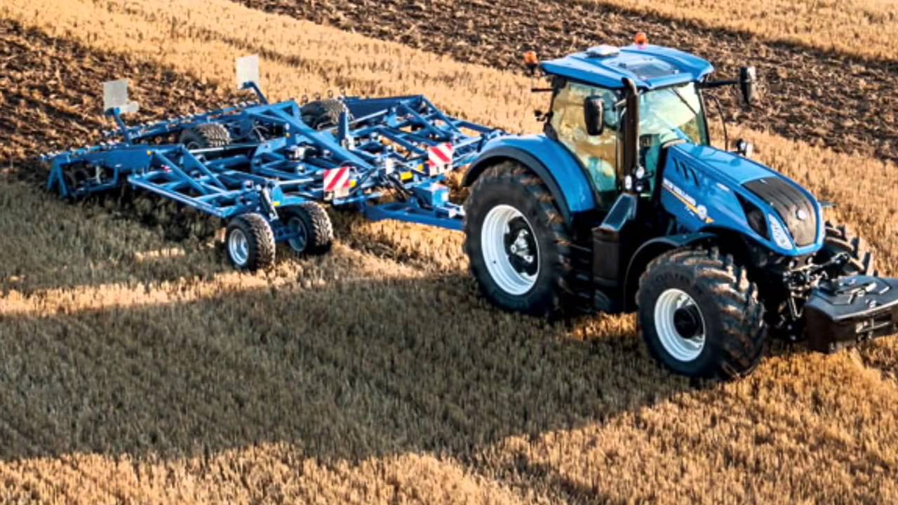New Holland Tractor People : New holland t youtube