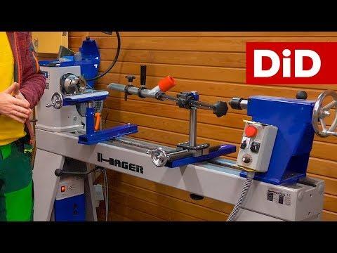 786. Profesjonalna tokarka do drewna Hager HDE250 oraz genialne akcesoria do toczenia