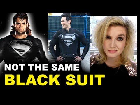 CW Superman Black Suit vs DCEU
