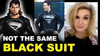 CW Superman Black Suit vs DCEU