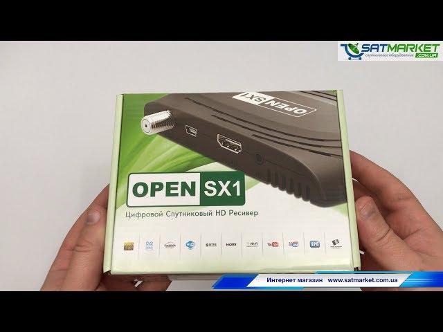 Видео обзор Openbox SX1 HD