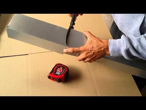 Tijera para cortar chapa para tejados de pizarra youtube - Tijeras de chapa ...