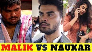 MALIK VS NAUKAR || RAAHII FILMS || COMEDY VIDEO 2018