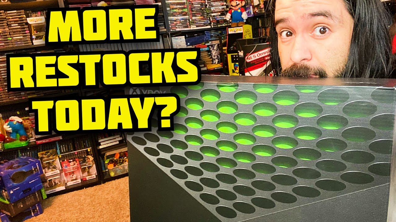 Xbox Series X restock hits GameStop stores this week  how to get ...
