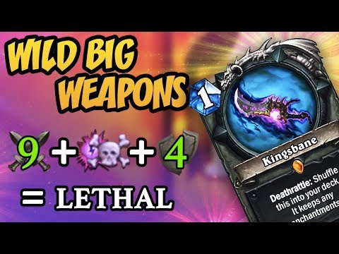 Hearthstone: Wild Big Weapons