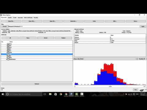 Sample Data Analysis Using Weka - Youtube