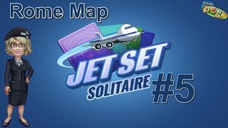 Pogo Games ~ Jet Set Solitaire #5 - Rome