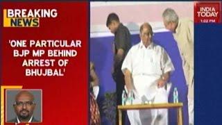 Sharad Pawar Slams BJP Over Sameer Bhujbal's Arrest