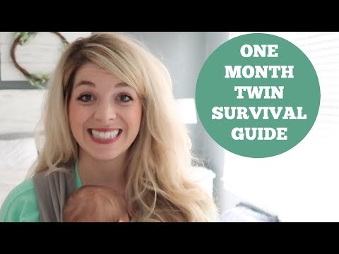 ONE MONTH TWIN UPDATE | HOW I AM SURVIVING