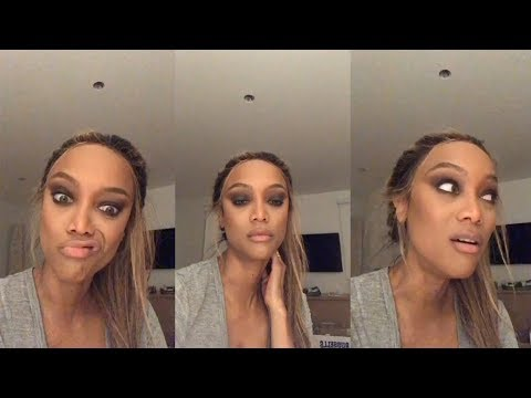Tyra Banks | Instagram Live Stream | 21 May 2018