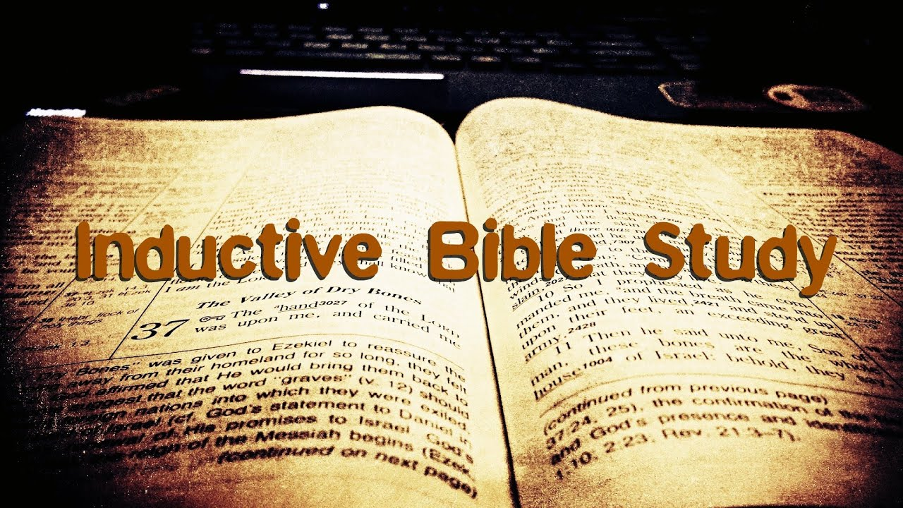 inductive bible study Find great deals on ebay for new inductive study bible and new inductive study bible nasb shop with confidence.