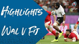 Highlights: Wales v Fiji - Rugby World Cup 2019