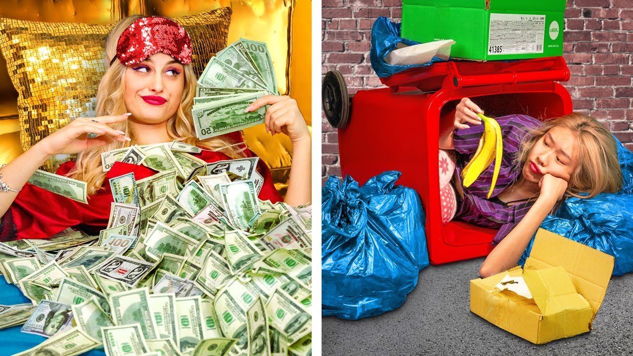 Download Rich vs Poor Morning Routine