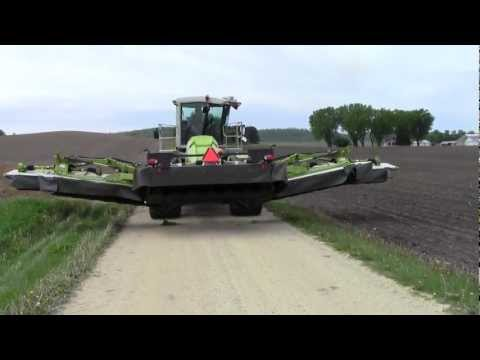 Claas cougar unfolding, sold to Diversified farms