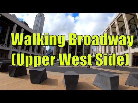 ⁴ᴷ⁶⁰ Walking Tour of the Upper West Side from Midtown Manhattan to Columbia University via Broadway