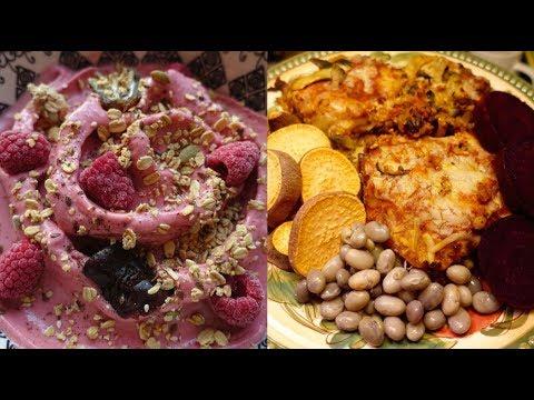 My BEST Day Of Vegan Eating in 60 Days // Ice Cream + Sweet Potatoes + Lasagna
