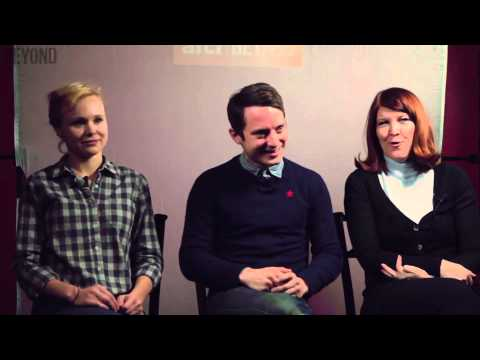 Elijah Wood, Allison Pill, and Kate Flannery discuss