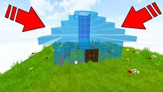 TURNING PLAYERS HOUSE INTO WATER HOUSE! (Minecraft Trolling)