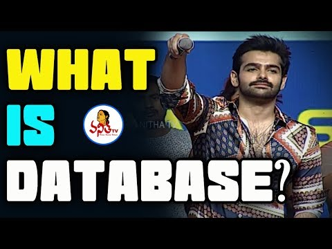 """""""What Is Database"""" Dialogue By Ram At Hello Guru Prema Kosame Pre Release Event  