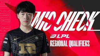 Third Seed Locked In!   Mic Check - LPL Regional Qualifiers (RNG)