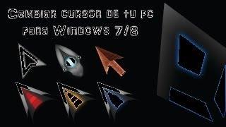 Tutorial: Personalizar el diseño del cursor o puntero de tu PC [HD].
