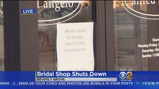 Bridal Shop Chain Reportedly Preparing To File Bankruptcy