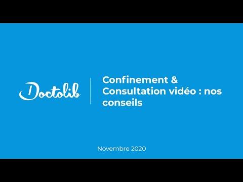 Rediffusion webinaire : Confinement & Consultation vidéo, nos conseils