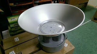 Светодиодный промышленный светильник 200 вт