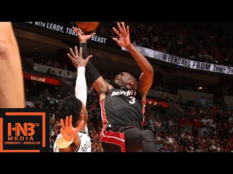 Miami Heat vs Brooklyn Nets Full Game Highlights / March 31 / 2017-18 NBA Season