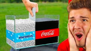 EXPERIMENT Coca Cola VS. Mentos