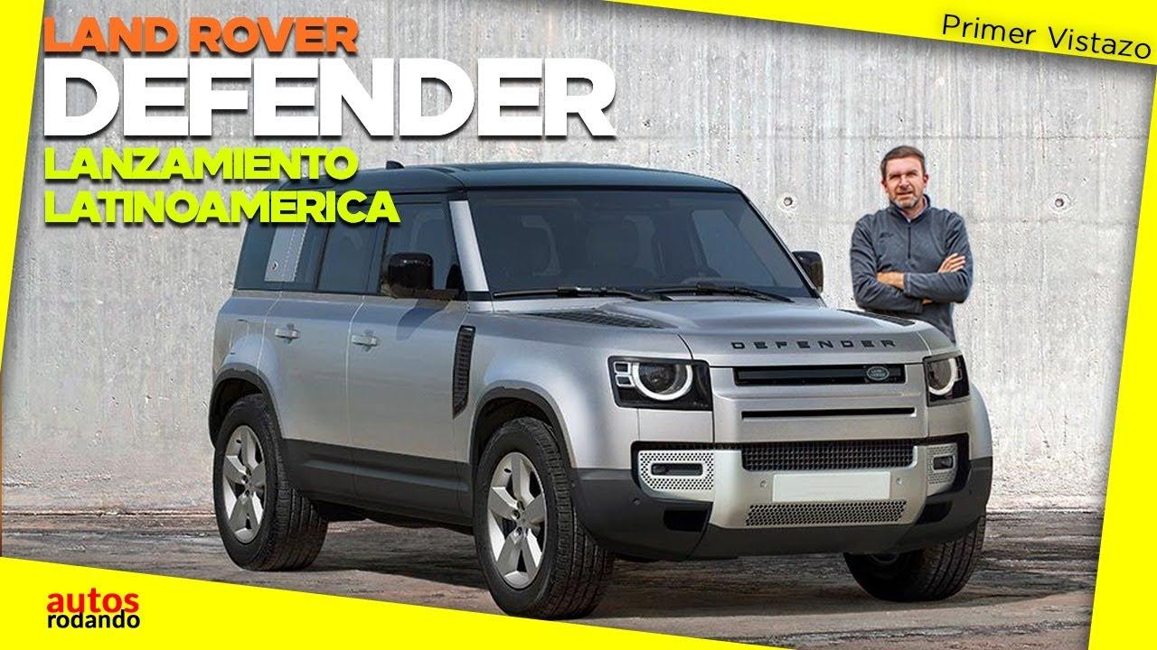 Land Rover DEFENDER 2021 YA en Latinoamerica 🔴 - YouTube