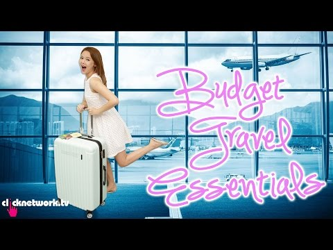 Budget Travel Essentials – Budget Barbie: EP88