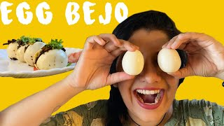 Egg Bhejo Recipe | Burmese Egg Masala | Street Food at Home