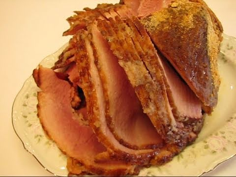 Bettys Spiral Sliced Ham With Brown Sugar Crumb Glaze Youtube