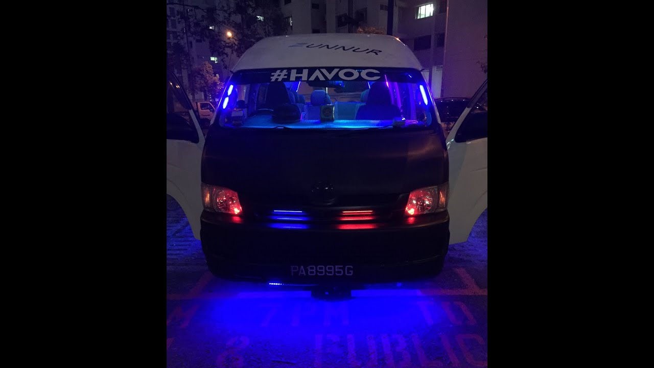 Pimped Toyota Hiacetoyota High Roof Youtube Used Quantum S And Siyaya Pictures