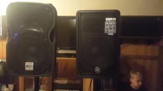 Yamaha DBR10 vs ALTO TS110A Speaker Shootout