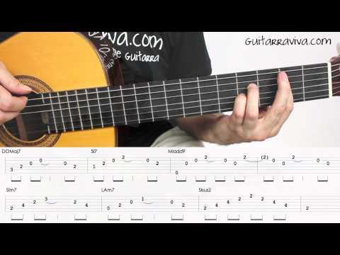 Te He Echado De Menos Guitarra Tutorial Acordes Guitarra Acustica Perfecto Como Tocar Alboran Chords