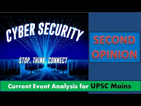 🔥Cyber Security - Internal Security, HINDI for UPSC Mains paper 3, Ransomware, Petya attack