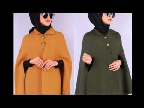 [VIDEO] - احدث ملابس محجبات لخريف و شتاء2020 موضةو ازياء تركية انيقة hijab fashion lookbook Tendence.Elegance 4