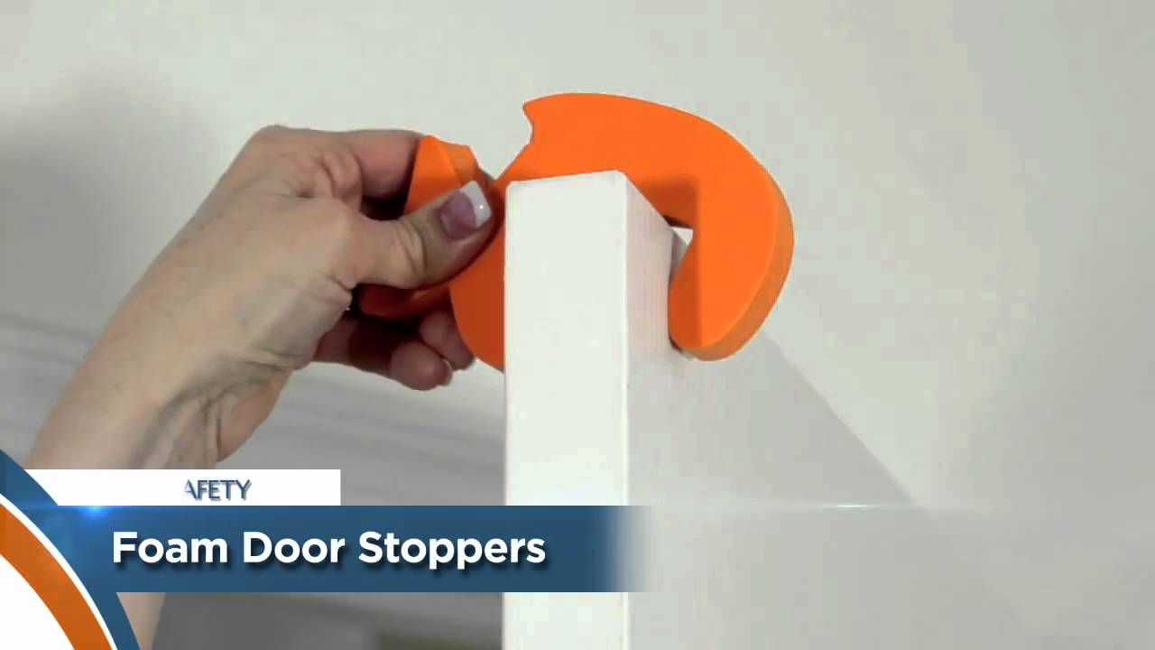 & Child Safety Tip - Foam Door Stoppers [117] - YouTube pezcame.com