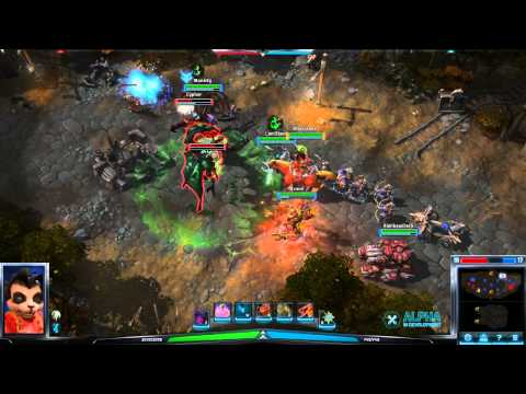 Heroes of the Storm - Playing as Lili Stormstout (Healer)