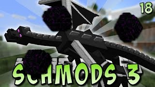 DRACHE mit DRACHENEI ABWERFEN - Minecraft SCHMODS 3 #18