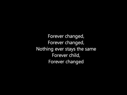 Forever Changed - Carrie Underwood (lyrics)