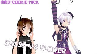 [MMD//Vocaloid//OC//Crack] V4 Flower's Sass