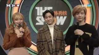 151110 더 쇼 시즌4 E52 AOA 유나 Cut