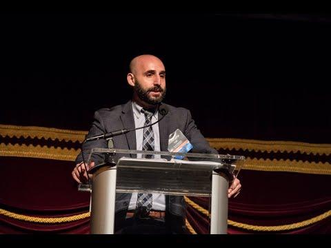 Christophe Turk - 2017 Heart of the School Award Winner