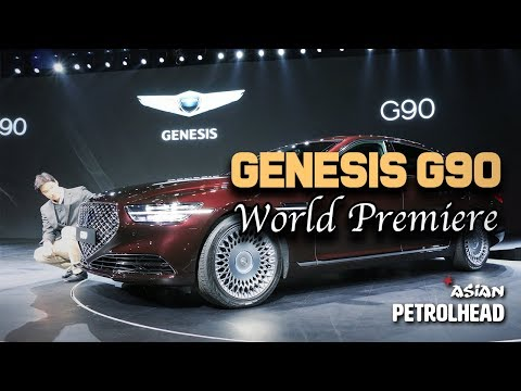 2020 Genesis G90 - World Premiere from Korea (In-depth design review)