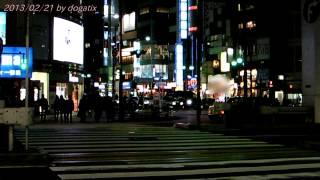 六本木交差点 夜景 Night view Roppongi Tokyo Japan 50