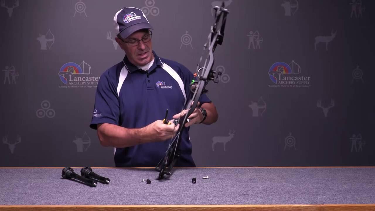 Archery Hunting Compound Bow Recurve Bow Stabilizer Quick Disconnect Detach S